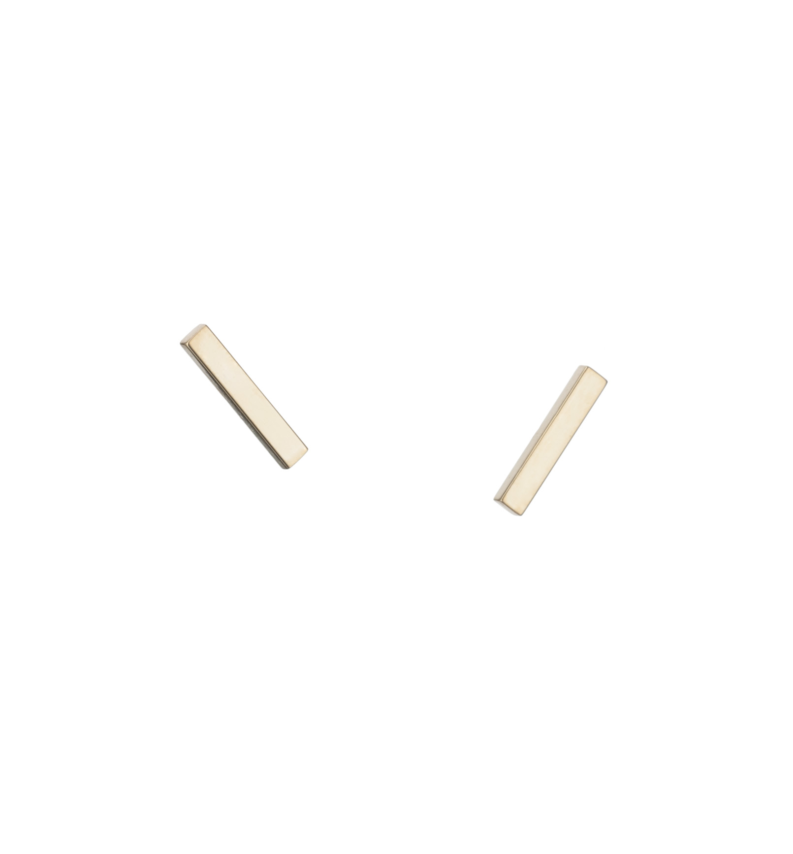 """Sticks and Stones"" stud earrings"