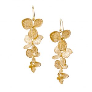 Hydrangea Dangle Earrings