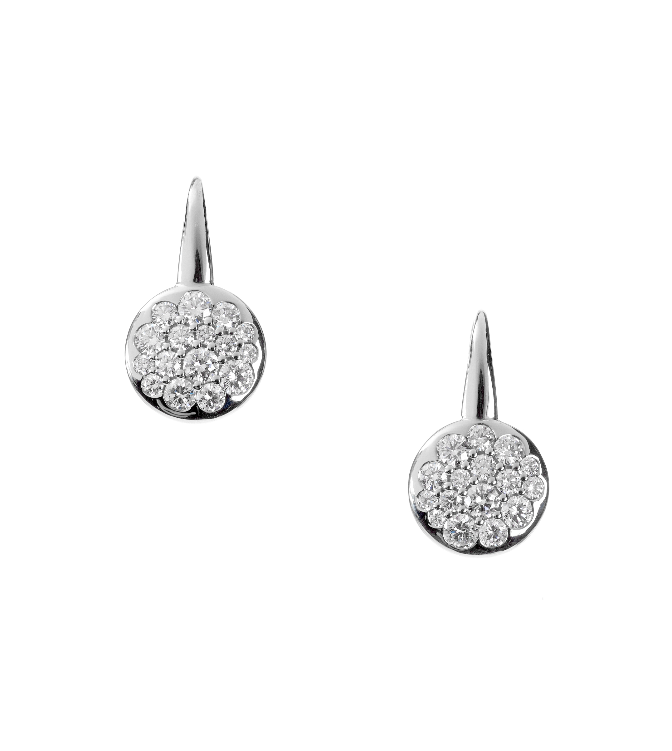 "Diamond ""Tango"" earrings"