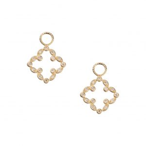 Judefrances Clover Earring Charms