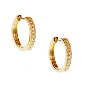 """Camilia"" Hoop Earrings"