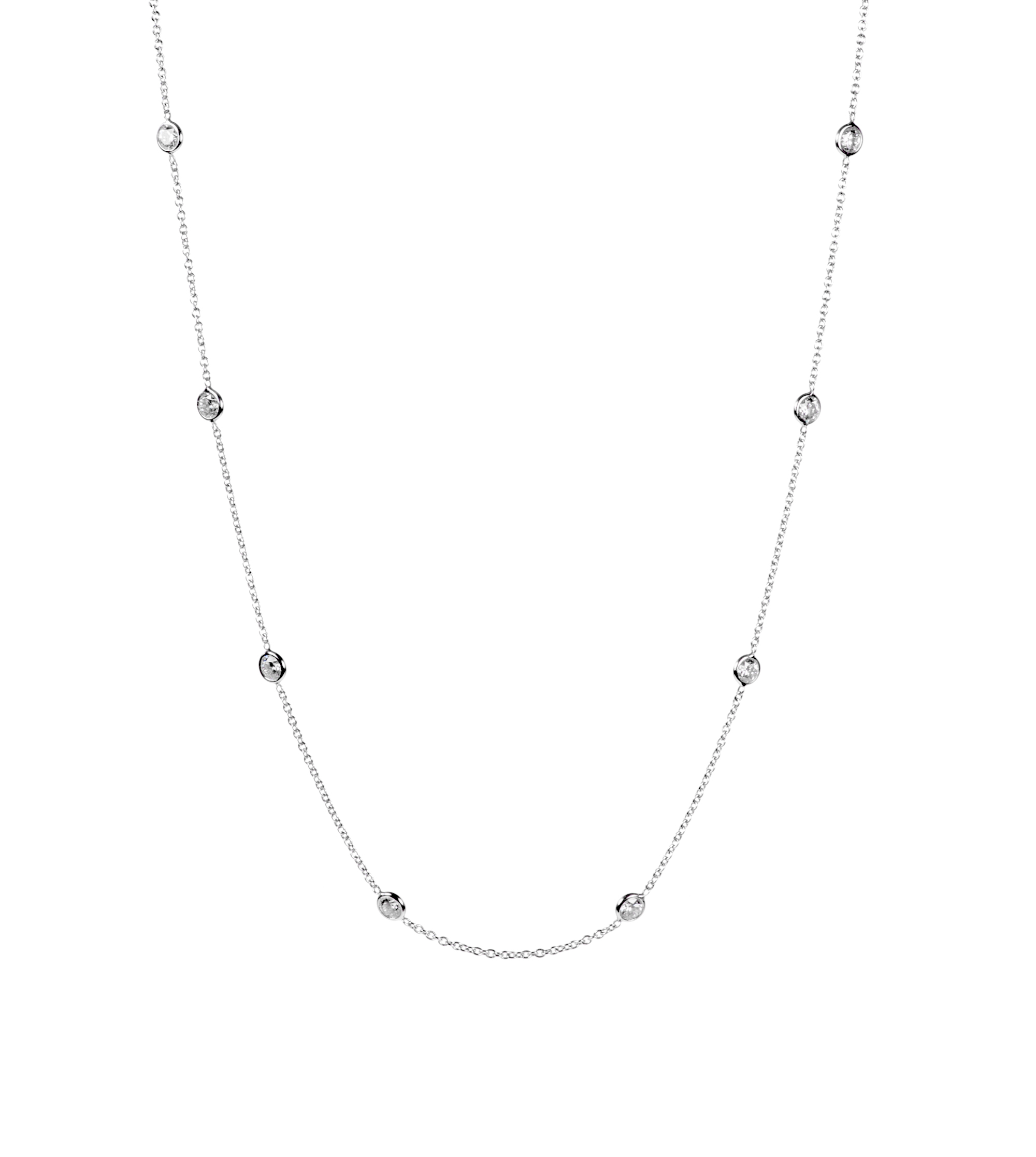 "Diamond ""Annie's"" necklace"