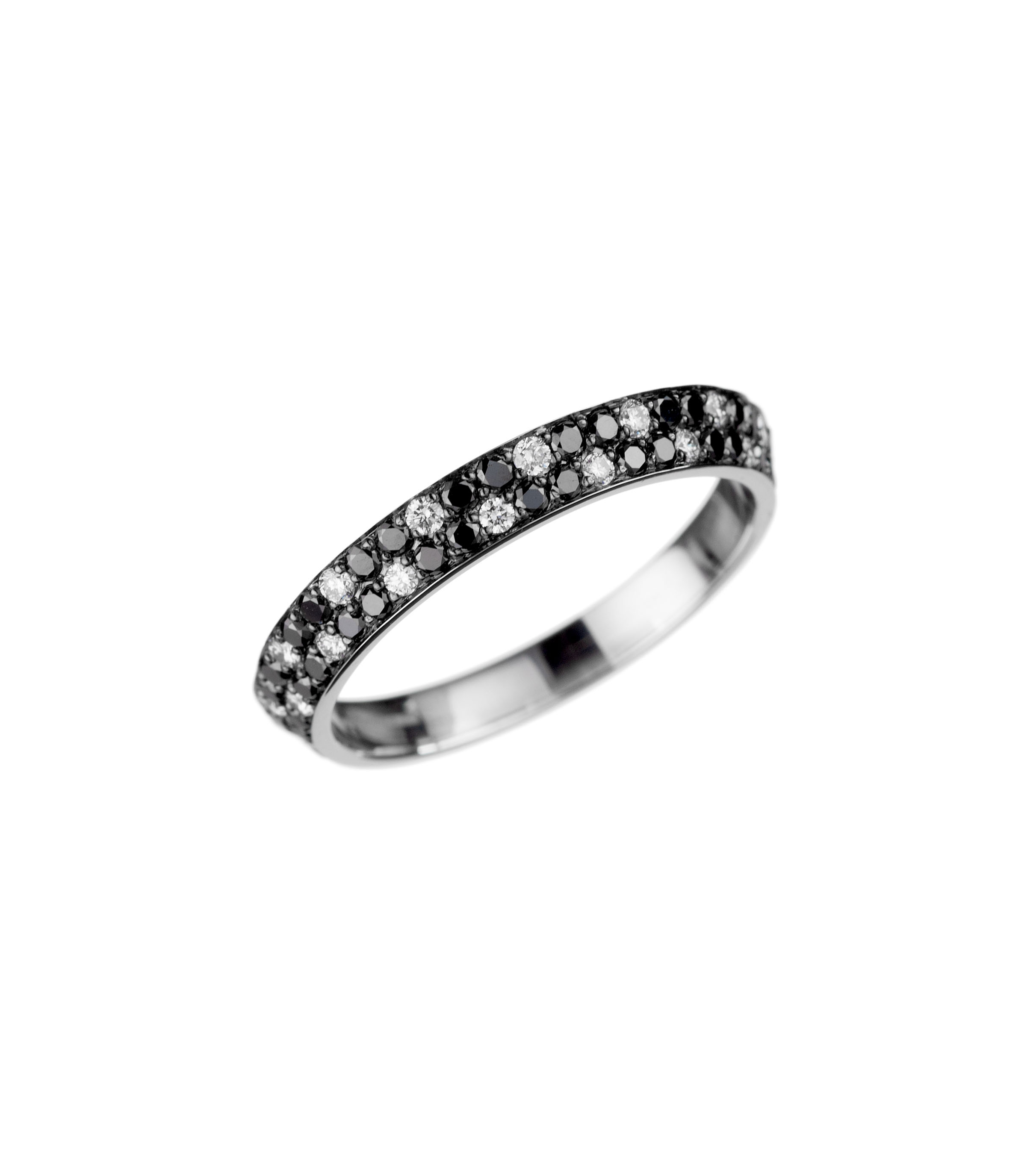 """""""Bookend"""" eternity band"""