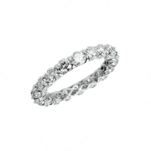 Ritani Shared-Prong Eternity Band