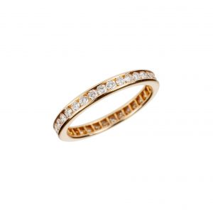 Channel-Set Diamond Eternity Band