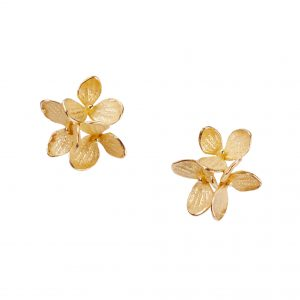 Hydrangea Cluster Stud Earrings