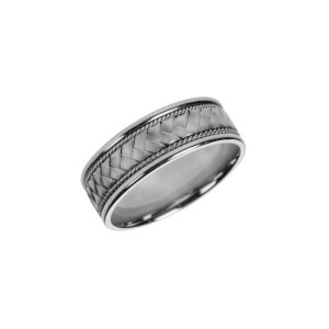 "Platinum ""Alexis"" wedding band"