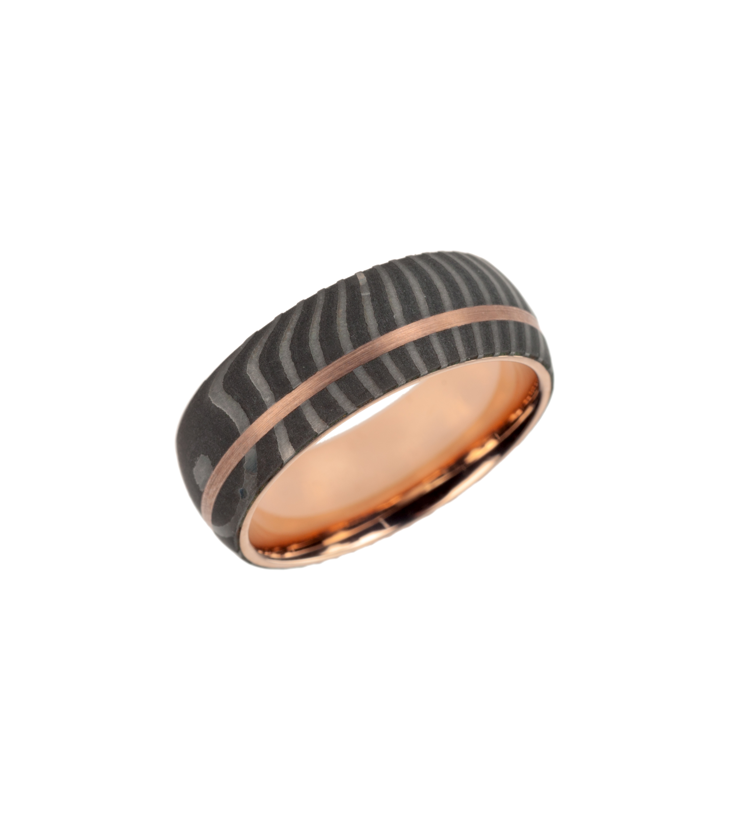 """Tiger"" wedding band"