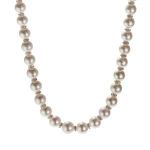 Single-strand South Sea cultured pearl necklace