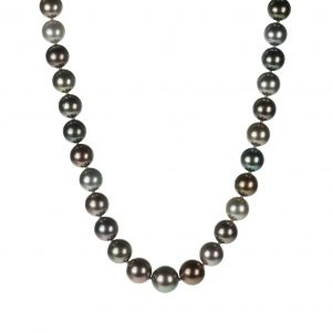 Single-Strand Multi-Color Tahitian Cultured Pearls