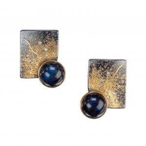 Spectrolite earrings