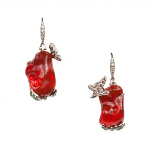 Arunashi Fire Opal Earrings