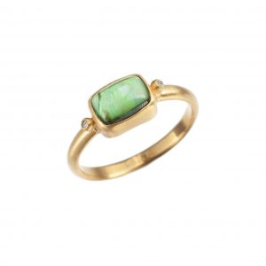 Lika Behar Green Tourmaline Ring