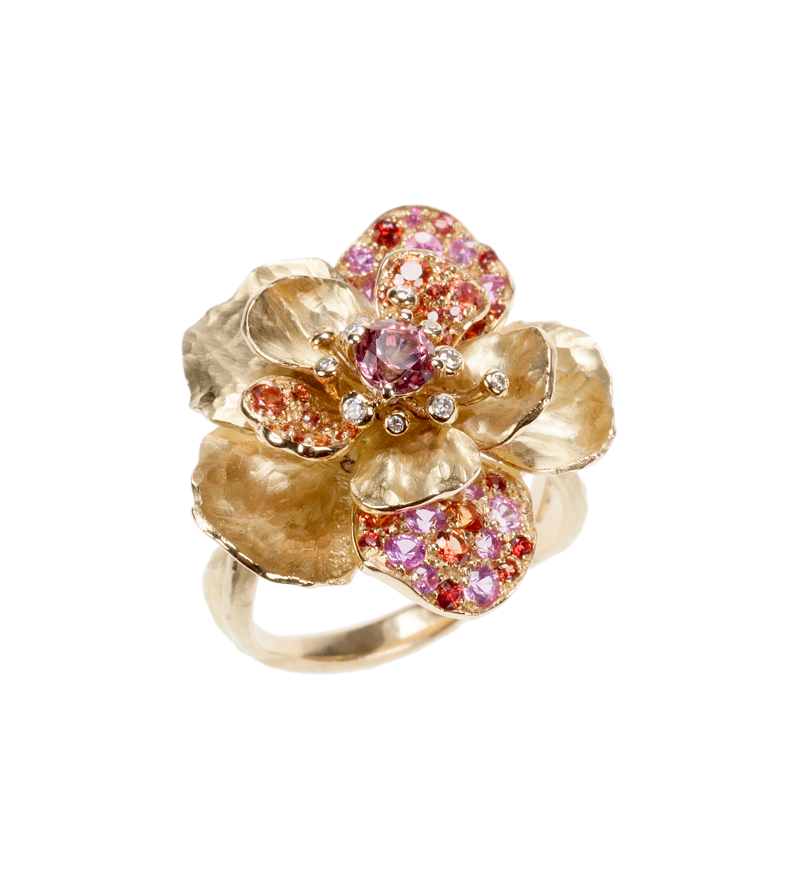 Flower Ring in Pink