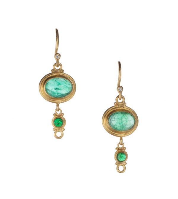 Lika Bahar Emerald Earrings